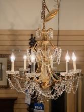 brass-crystal-chandelier
