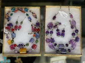 Lucy Bergamini Vitriesse Glass Jewelry