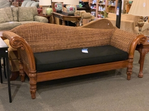 wicker-loveseat