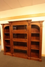 hardwood-bookcase